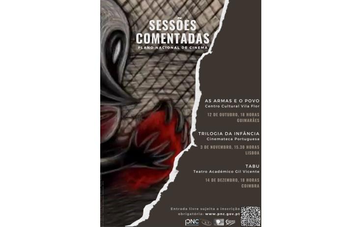 Jornal Campeão: Plano Nacional de Cinema realiza sessões comentadas em Guimarães, Lisboa e Coimbra