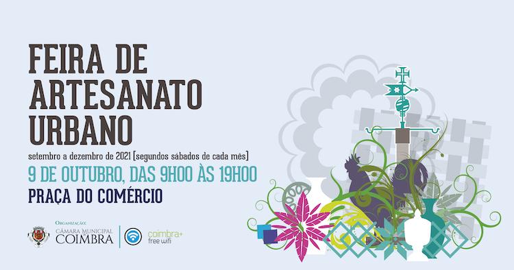 Jornal Campeão: Feira de Artesanato Urbano regressa sábado à Baixa da cidade