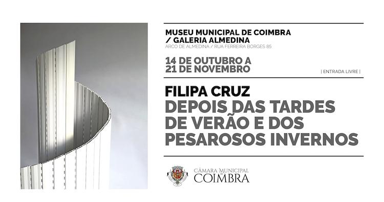 Jornal Campeão: Exposição de Filipa Cruz junta escultura e literatura na Galeria Almedina