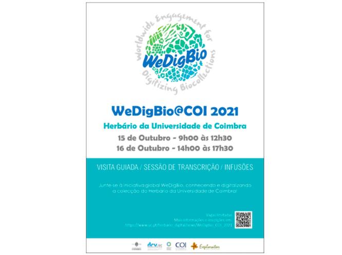 Jornal Campeão: Herbário da UC participa na iniciativa global WeDigBio