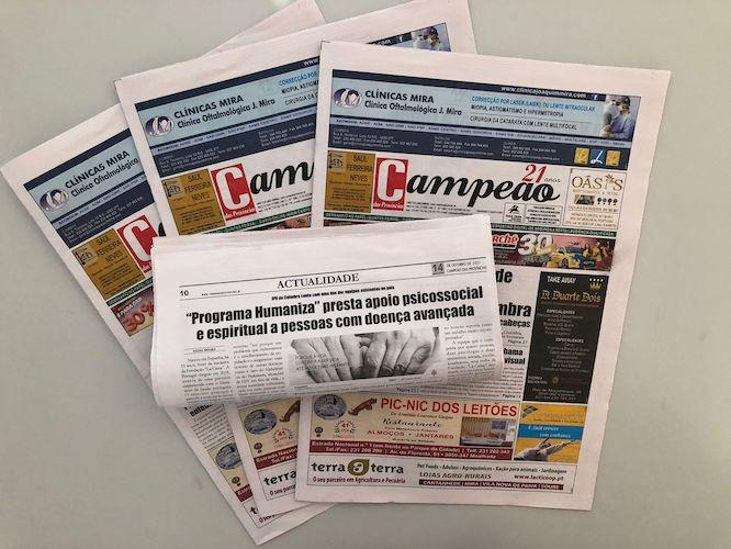 """Jornal Campeão: """"Programa Humaniza"""" presta apoio psicossocial e espiritual"""