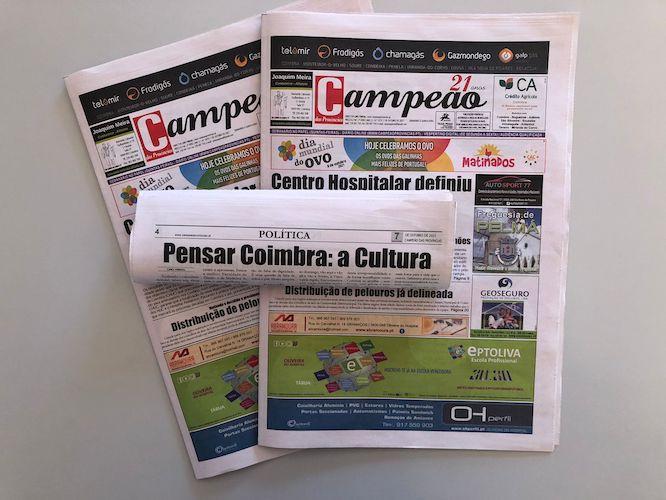 Jornal Campeão: Pensar Coimbra: a Cultura