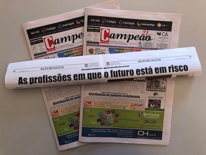 Jornal Campeão: As profissões em que o futuro está em risco
